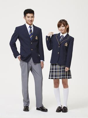 南阳中学校服定做——天曼服饰