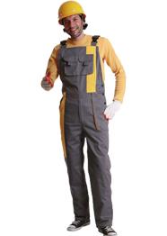 反光条背带裤加工TMBDK-022