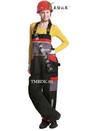 外贸背带裤厂家TMBDK-021