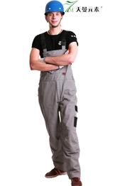 油漆工工装背带裤TMBDK-017