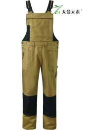 纯棉帆布耐磨背带裤TMBDK-011