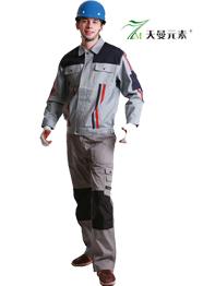 防火阻燃工作服套装加厚TMGTGZF-005