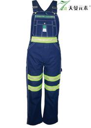防火阻燃背带裤 TMBDK-026