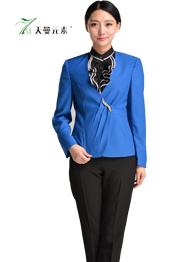 女士蓝色小西服套装TMSWZ-059