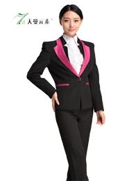 女士单纽扣黑色西服TMSWZ-047