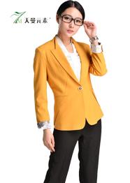 小西服短款黄色TMSWZ-042