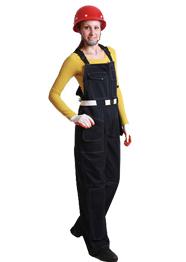 劳保工作服背带裤TMBDK-003