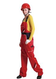 工装背带裤女TMBDK-004