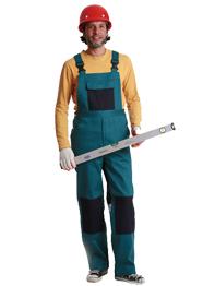 防火阻燃背带裤TMBDK-0027