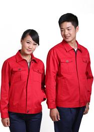 红色超市工作服TMQMCX-002