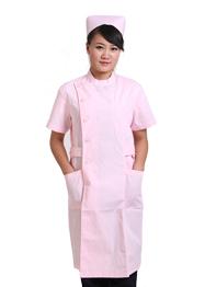 夏装粉色护士服TMHSF-063