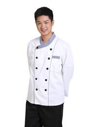 餐厅长袖厨师服TMCSF-004