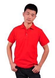 纯棉大红色T恤衫TMYSGGS-017