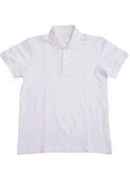 空白翻领文化衫定做TMGGS-005