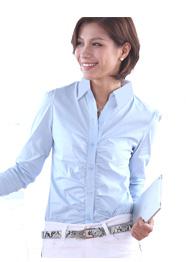 夏季女长袖衬衫TMCS-015