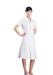 大白褂万博matext客户端长袖女装TMHSF-056