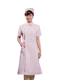 护士服粉色短袖夏季万博matext客户端TMHSF-037