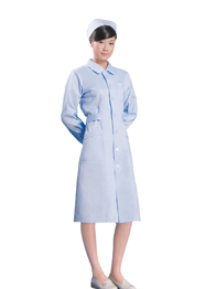 护士服冬装长袖蓝色TMHSF-027