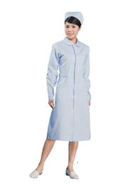 粉蓝色冬季护士服加工定做TMHSF-016