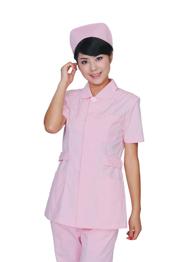 护士服套装粉色加工厂TMHSF-012