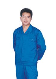 医院工勤服套装蓝色TMGQF-001