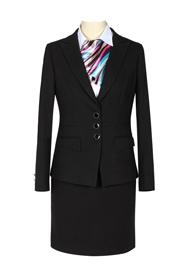 黑色女职业西服套裙TMXFN100901