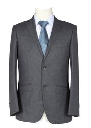 男西服商务装灰色细条纹TMXFH100706