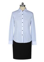 女长袖正规领衬衫TMW100303