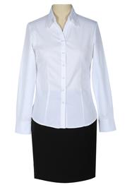 女长袖v领衬衫TMW100705