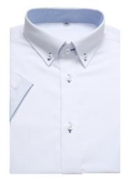 男士白色衬衫TMHC509