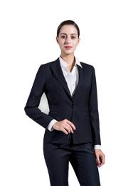 现货职业装女单扣韩版西服WY1022