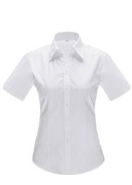 女短袖V领衬衣YWD4503