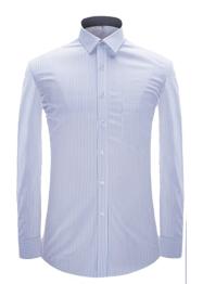 男长袖小领衬衣YM3006