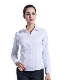 女长袖V领衬衣TW3501