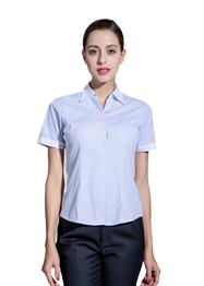 女短袖V领衬衣TWD6001