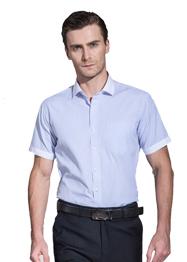男短袖小领衬衣TMD6001