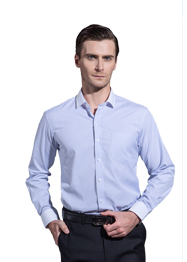 男长袖小领衬衣TM6001