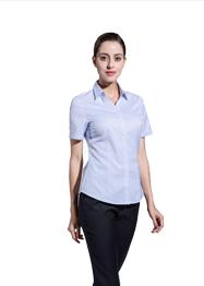 女短袖V领衬衣GMD6003