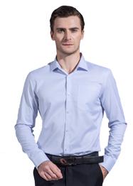 男长袖正装领衬衣GM6003