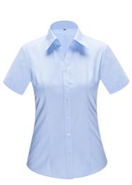 女短袖V领衬衣 YWD4507