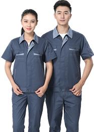 时尚短袖工作服TMX661-01