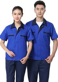 中兰色工作服新款时尚工装TMX661-06