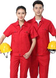 大红色工作服TMX665-02