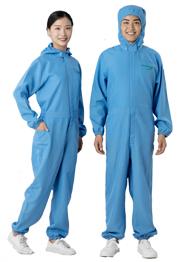 蓝色连体防护服